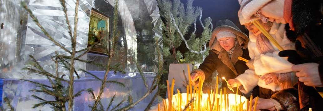 Вертеп. Рождество 2011г. Храм преподобного Сергия Радонежского г.Челябинск