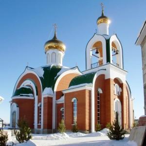Храм преподобного Сергия Радонежского город Челябинск