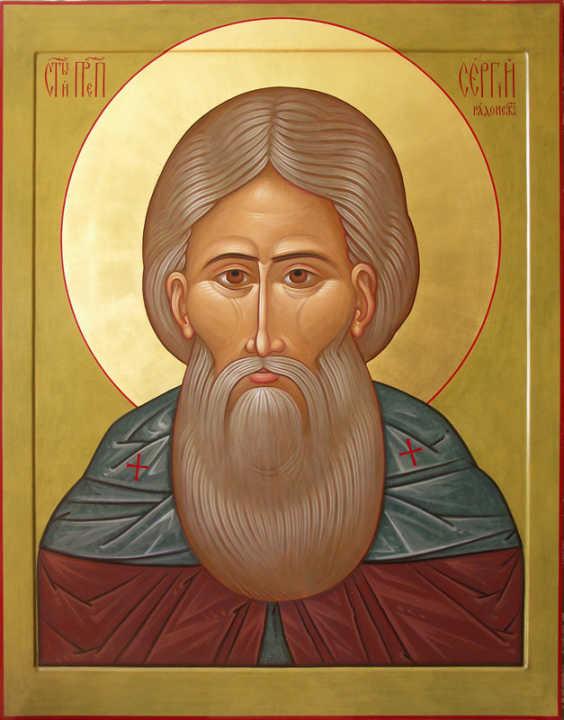 Канон на обретение мощей преподобного Сергия Радонежского, Глас 4