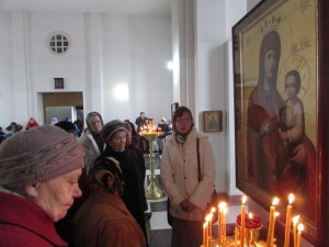 Экскурсия в храме преп Сергия Радонежского