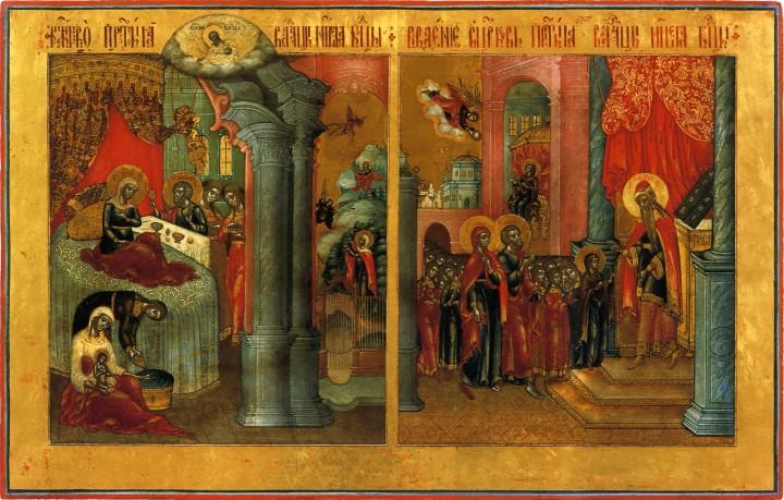 Введение во храм -икона