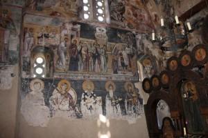 Фреска монастыря Студеница