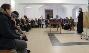 Встреча с настоятелем храма протоиереем Ярославом Ивановым