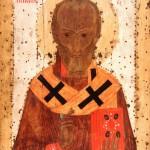 Святитель Николай Чудотворец. Келейная икона прп. Сергия