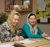 Педсовет воскресной школы храма прп. Сергия Радонежского город Челябинск 2015 12 29
