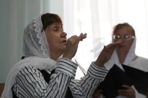 Руководитель приходского хора – Лопухова Наталья Мстиславовна