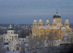 монастырь в Верхотурье, фото