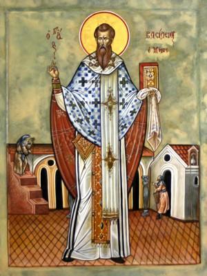Свт. Василий Великий. Икона.