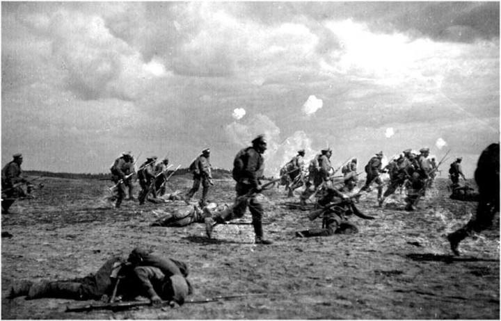 Атака, первая мировая война
