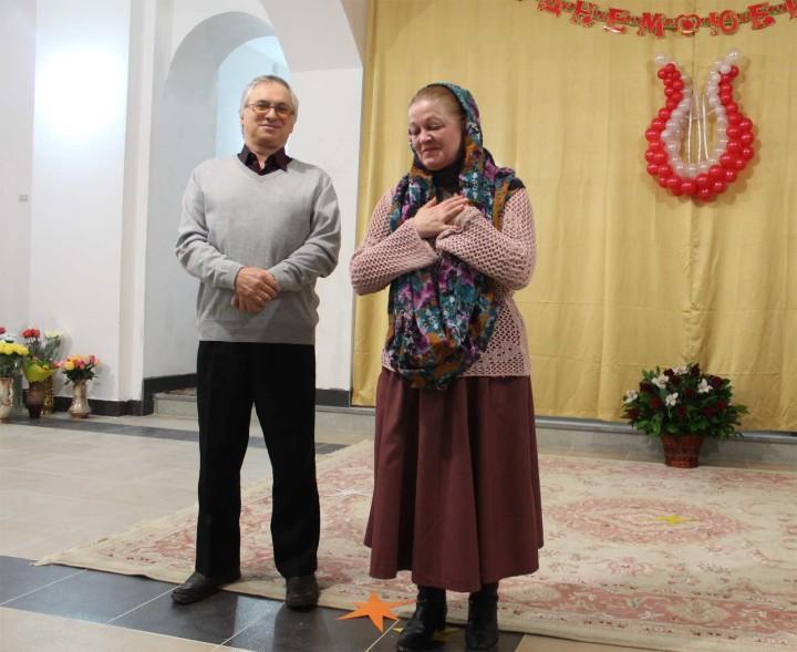 Артист Камерного театра, заслуженный артист РФ Виктор Нагдасёв
