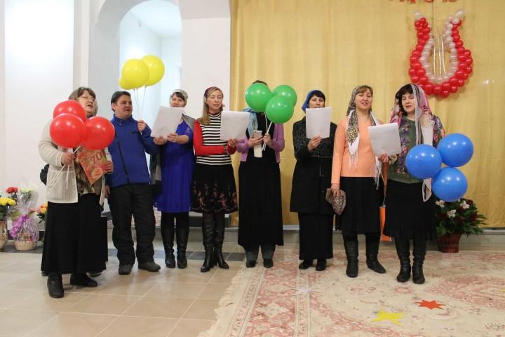 Поздравление от хора храма преп.Сергия Радонежского