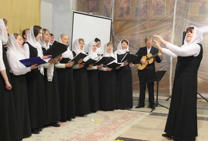 Приходской хор храма преподобного Сергия Радонежского