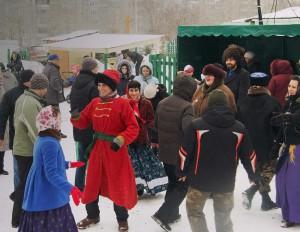 «Масленица» на приходе храма преп.Сергия Радонежского, город Челябинск, 2016