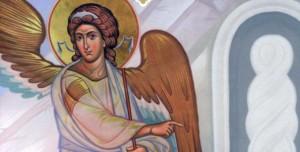 Ангел, Воскресение Христово