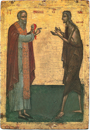 Прп Зосима и Мария Египетская