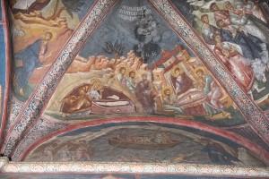 Апостол Петр у Гроба Господня. Явление Христа апостолам на пути в Эммаус. Ужин в Эммаусе