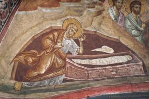 Апостол Петр у Гроба Господня