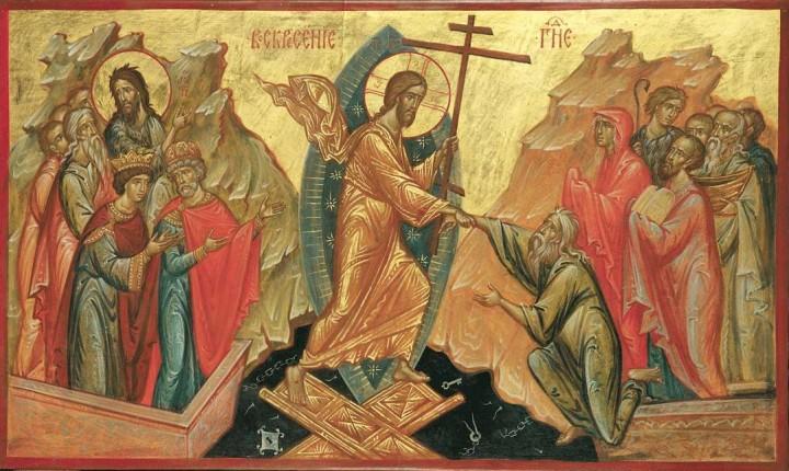 Воскресение Господне, удостоверенное явлениями Его воскресшего.