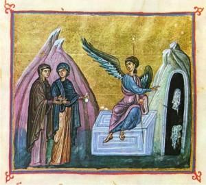Явление Ангела женам-мироносицам.