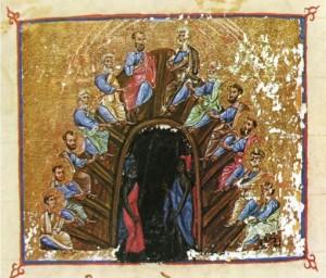 Сошествие Святаго Духа на Апостолов
