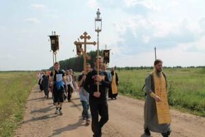 Миссионерский Крестный ход, город Челябинск