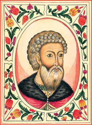 Великий князь Московский Иоанн III.