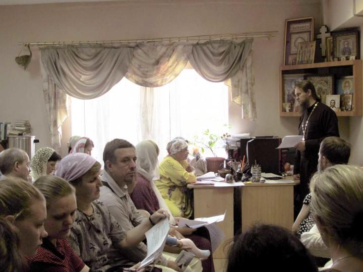 Организационное собрание по миссионерскому крестному ходу, Челябинск, 2016 г
