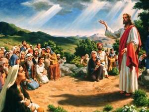 Икона Господь Иисус Христос проповедь
