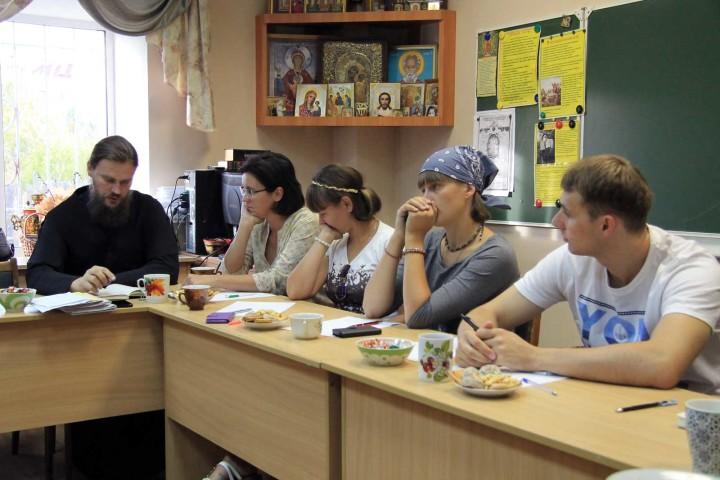 Собрание совета православного молодежного объединения Челябинской епархии