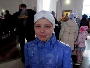 Даша Капитула, 10 лет.