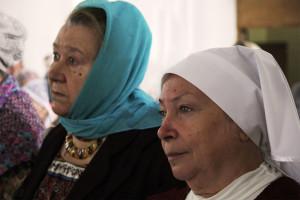Преподаватели Лариса Михайловна Кудрявцева (слева) и Зоя Васильевна Соколова
