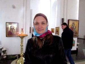 Светлана Соколовская, прихожанка