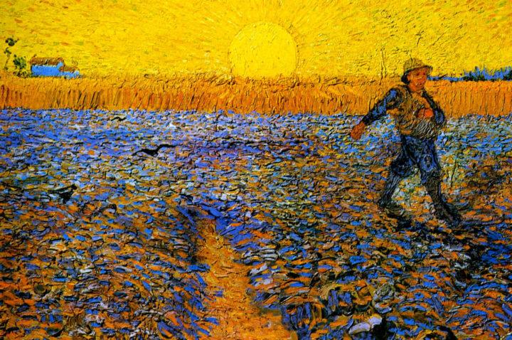 сеятель, Ван Гог