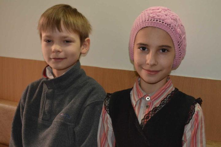 Александр Колесник и Евдокия Удалова