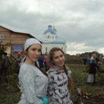 Слева на фото - Елена Печенкина