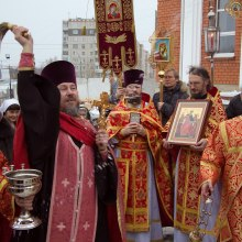 Престольный праздник, память вмч. Екатерины, 7 декабря, крестный ход