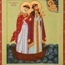Петр и Феврония Муромские икона2