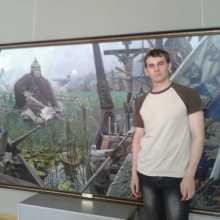 Волонтер Александр Корецкий
