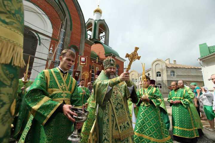 Престольный праздник в храме св преп Сергия Радонежского