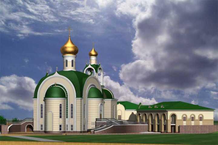 храм преподобного Сергия Радонежского г.Челябинск