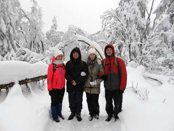 Снежный « Марш-бросок», ноябрь 2015
