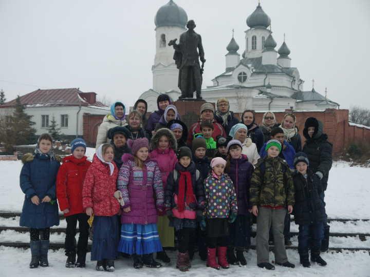 Паломничество в Троицк 04.11.15