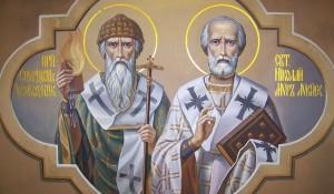 Святители Николай и Спиридон