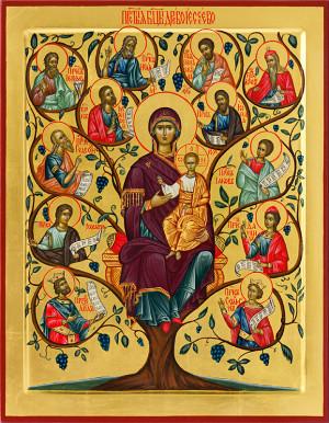 Икона Пресвятой Богородицы Древо Иессеево