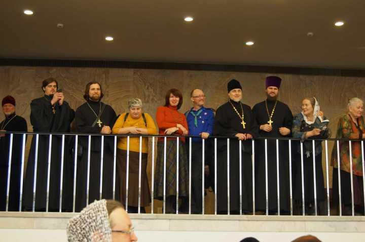 Участие делегации прихода храма Сергия Радонежского в XXIV Международных Рождественских образовательных чтениях в Москве, 25-27 января 2016 года