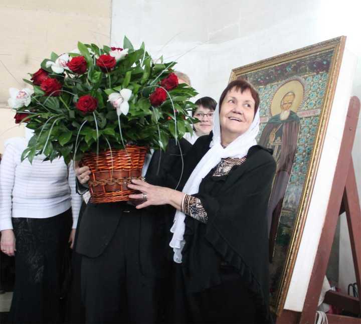 Наталья Мстиславовна Лопухова, руководитель приходского хора