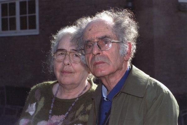 Зинаида Миркина и Григорий Померанц