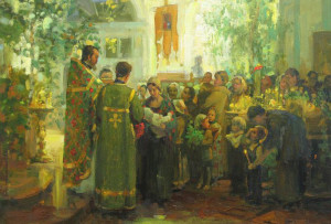Вострецова Анастасия (род. 1981) Праздник Троицы.