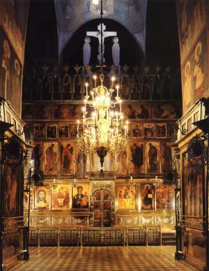 Иконостас Троицкого собора