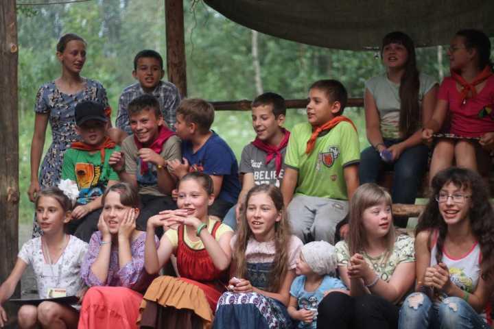 Православный детский лагерь Наследник на озере Увильды, 2016г